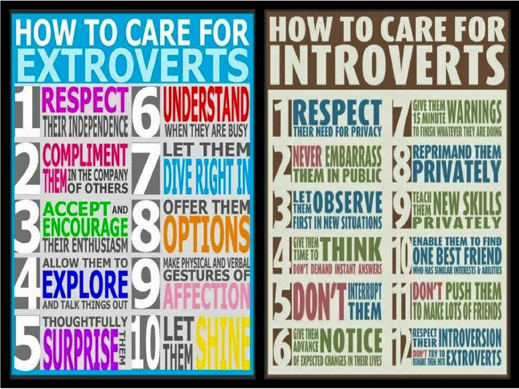 introvert - Introverts & Extroverts – Finding Balance